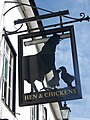Sign for the Hen and Chicken - geograph.org.uk - 551949.jpg