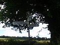 Signpost to Morrals Wood - geograph.org.uk - 491800.jpg