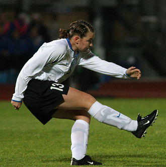 Signy Aarna - Playing for Estonia in 2009
