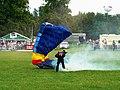 Silver Stars Parachute Team (2 of 2) Cirencester Park, Gloucestershire - geograph.org.uk - 2490228.jpg