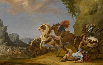 Simon Johannes van Douw - The Fall of Saul