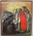 Simone dei crocifissi, s. bernardo consegna la regola ai conversi cistercensi, 1370 ca.jpg