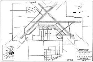 Sioux City Air National Guard Base - 1944 Airfield Diagram
