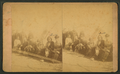 Sitting Bull and his favorite squaw, with officers and their ladies, by Cross, W. R. (William R.) 2.png