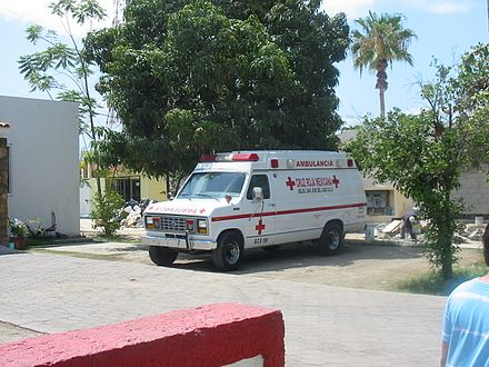 An ambulance owned by the Mexican Red Cross Sjd-ambulance.jpg