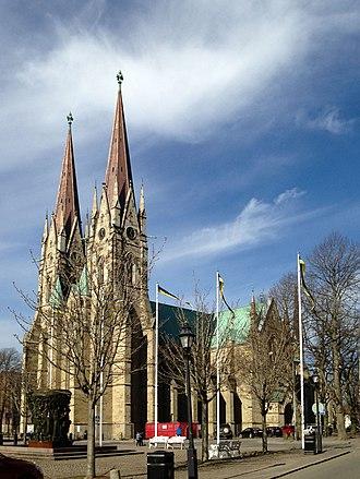 Skara Cathedral - Image: Skara Cathedral