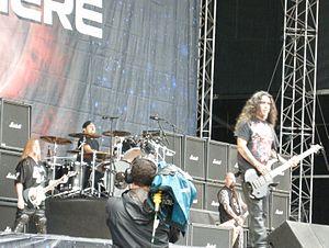 Sonisphere Festival - Slayer performing at Sonisphere Festival, Stockholm, Sweden 2010.