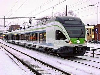Stadler FLIRT - Finnish Sm5-class EMU in Riihimäki