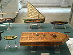 Small ships, Navy Museum, Lisbon (Portugal).JPG