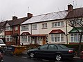 Snow only settled on old tiles - geograph.org.uk - 734306.jpg