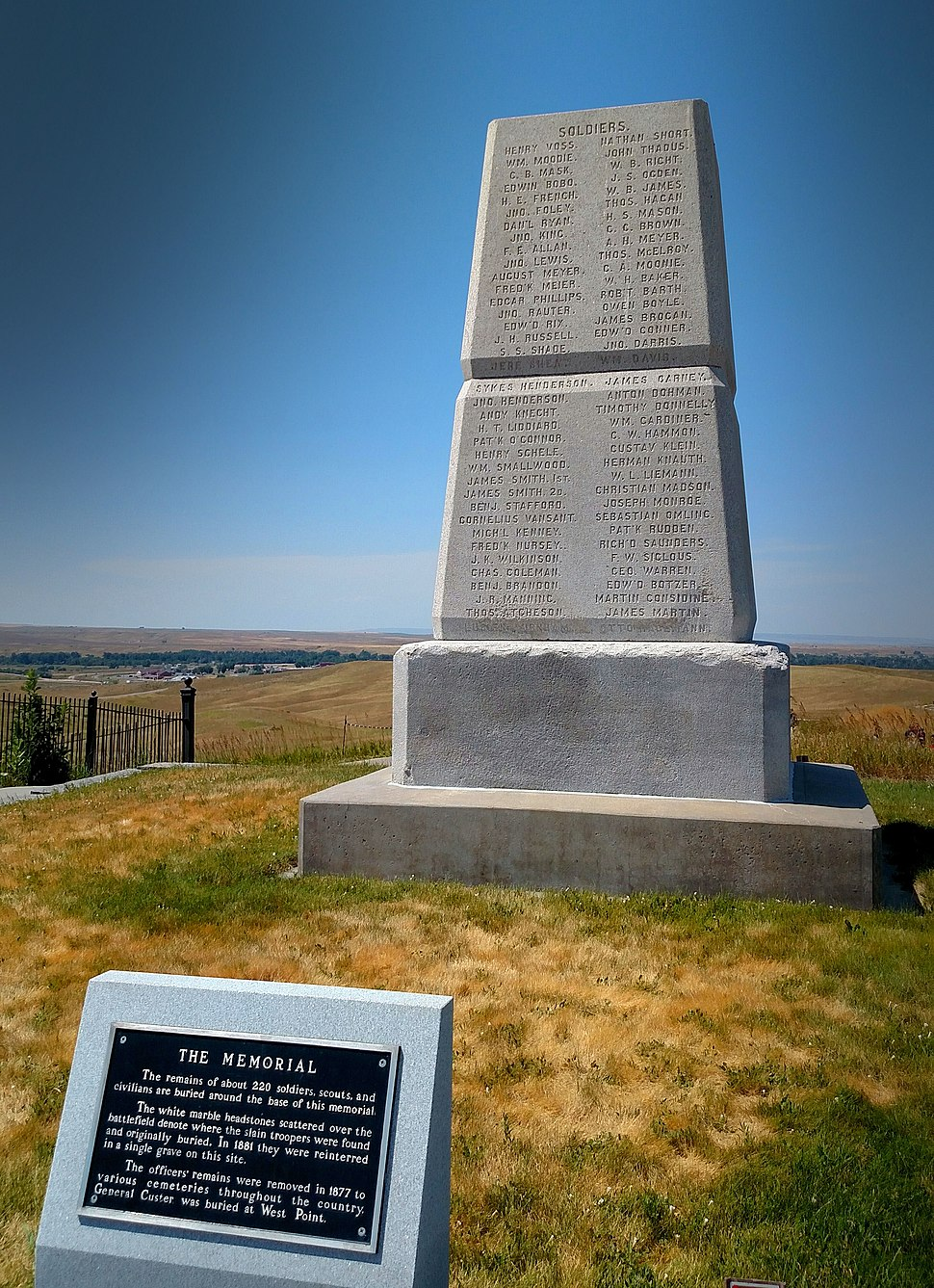 Soldier memorial little bighorn 2