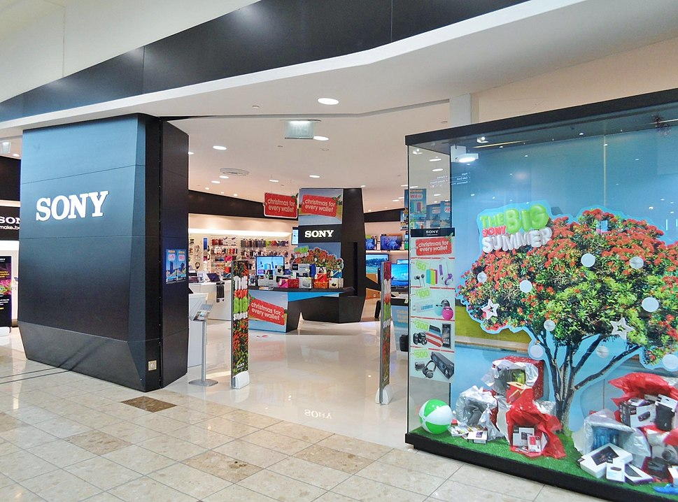 Sony store Westfield Riccarton 2013