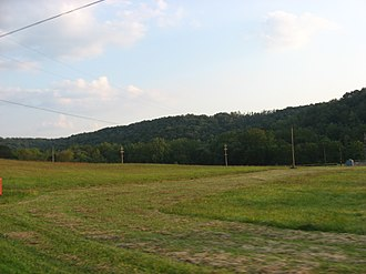 South Beaver Township, Beaver County, Pennsylvania - Countryside in South Beaver Township