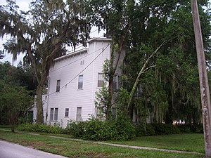 Bartow, Florida - The South Florida Military College Building
