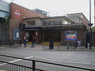 South Harrow tube station London Underground station