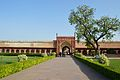 Southern Block with Gateway - Diwan-i-Am Courtyard - Northern View - Agra Fort - Agra 2014-05-14 4199.JPG