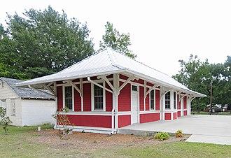 Southern Railway Depot (Batesburg-Leesville, South Carolina) - Southern Railway Depot, August 2012