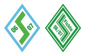 VfB Fichte Bielefeld - Historical logos of predecessor side SpVgg Bielefeld.