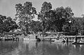 Spanish Fort Bayou with Boats New Orleans 1934.jpg