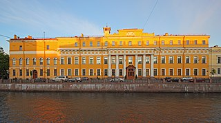 palace in Saint Petersburg, Russia