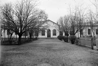 Țăndărei - Țăndărei Rural Hospital, ca. 1930s