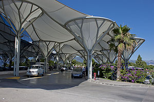 Split Airport - Split Airport terminal entrance