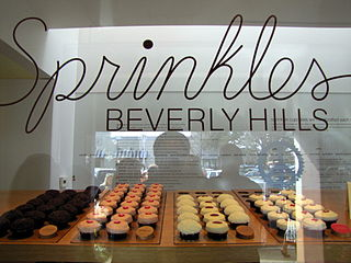 Sprinkles Cupcakes cupcake bakery chain