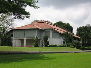 Chief Secretary, Singapore - Sri Temasek, the official residence for Colonial Secretaries and Chief Secretaries from 1869 to 1959