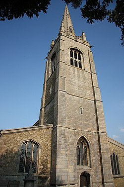 St.Peter's church tower - geograph.org.uk - 1388818.jpg