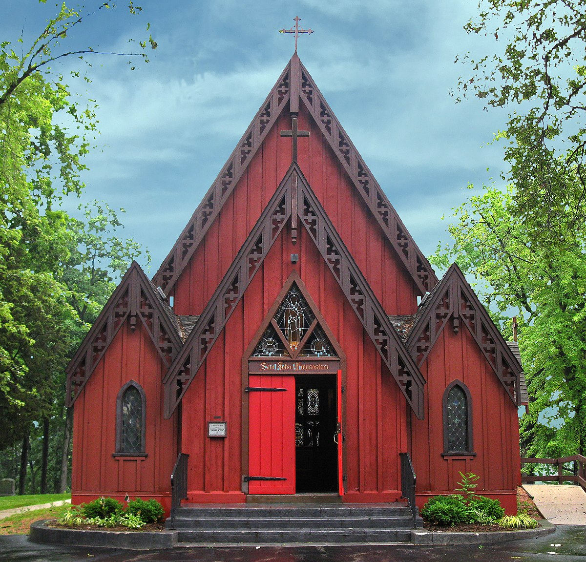 St john chrysostom church delafield wisconsin wikipedia for Churches for sale in ny