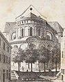 St. Maria in Capitolio, Johann Peter Weyer (Zeichnung) und Anton Wünsch (Lithografie), 1827 (from book).jpg
