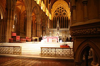 Sanctuary - The sanctuary at St. Mary's Cathedral, Sydney