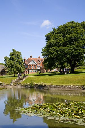 St Bede's School, Eastbourne - Views from the lake at the Senior School