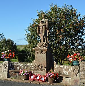 Parish councils in England - War Memorial looked after by St Bees PC
