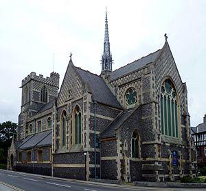St John the Baptist Church, Chipping Barnet - Image: St John the Baptist Church, Chipping Barnet