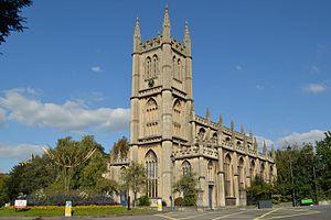 St Mary the Virgin's Church, Bathwick - Image: St Mary's Church, Bathwick, 2015