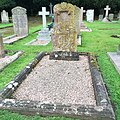 St Mary's Church Eccleston, Old Churchyard - grave of Hugh Grosvenor, 1st Duke of Westminster (1825–1899).jpg