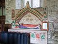 St Marys church, Burford - monument to Princess Elizabeth (geograph 3422370).jpg