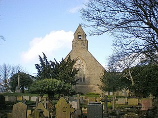 St Maxentius Church, Bradshaw Church in Greater Manchester, England