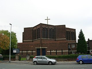 Church of St Michael and All Angels, Northenden Church in Manchester, United Kingdom