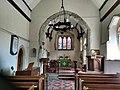 St Michael the Archangel's Church, Litlington, interior.jpg