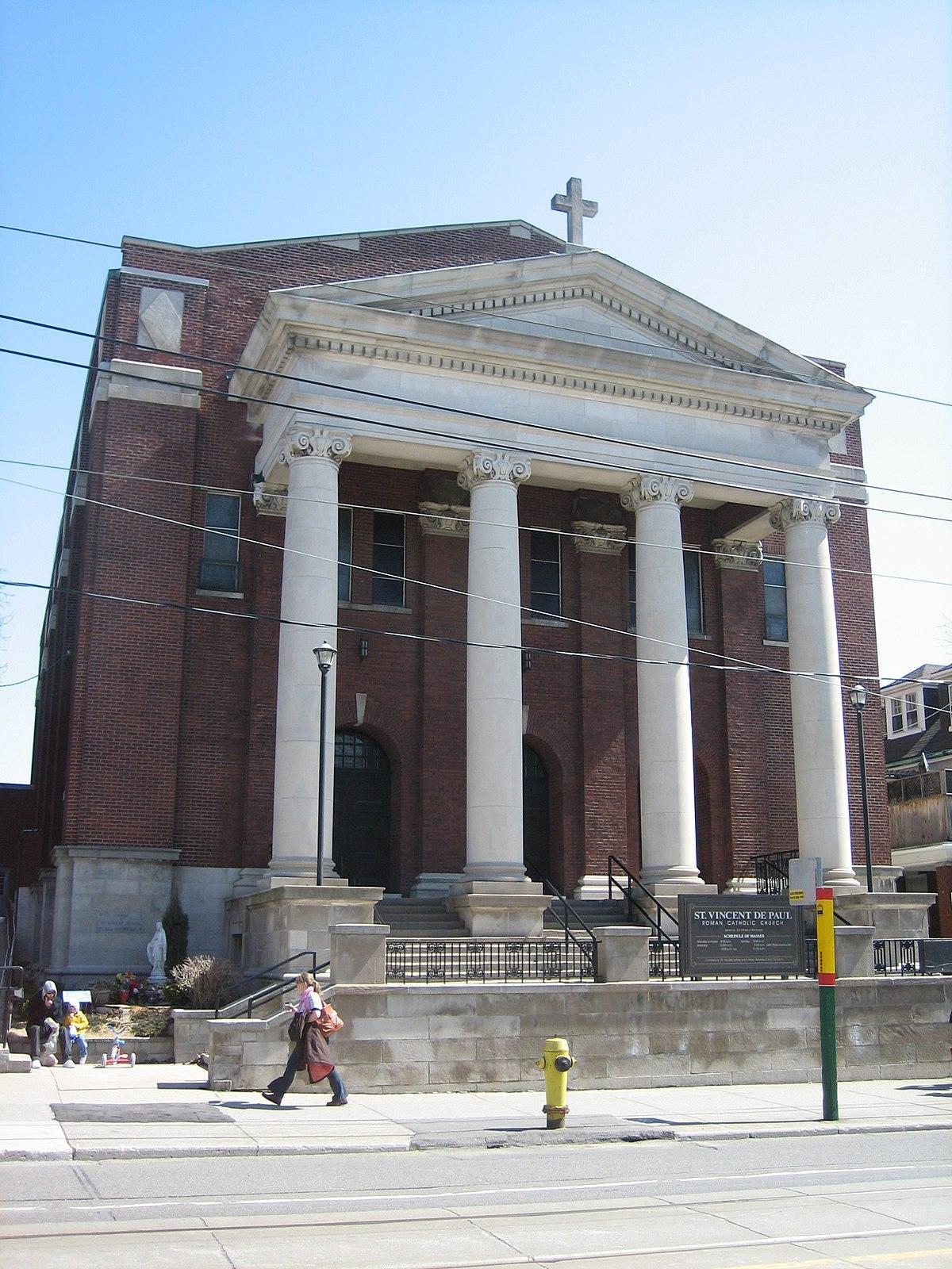 St. Vincent de Paul Roman Catholic Church (Toronto ...