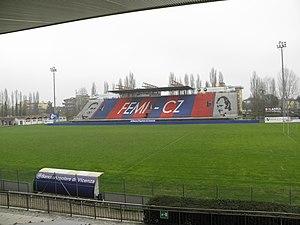 Stadio Comunale Mario Battaglini - Image: Stadio Mario Battaglini, tribuna Quaglio