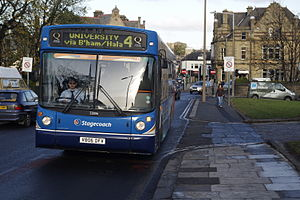 Stagecoach Cumbria & North Lancashire - A Stagecoach in Lancaster bus in Lancaster
