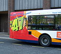 Stagecoach in Newcastle bus 22410 route X47 branding in Newcastle 25 April 2009.JPG