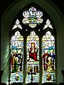 Stained glass window, St Mary's Church, Codford St Mary - geograph.org.uk - 951330.jpg