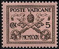 StampVatican1929Michel1.jpg