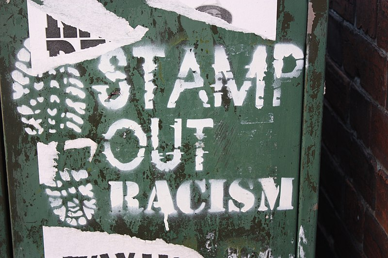 File:Stamp Out Racism, Belfast, August 2010.JPG
