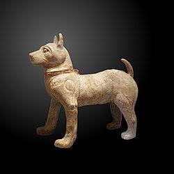 Standing dog-MA 6095
