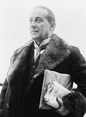 British Prime Minister Stanley Baldwin (1867-1947)